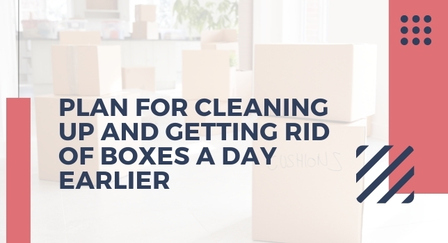 Get Rid Of Boxes A Day Earlier