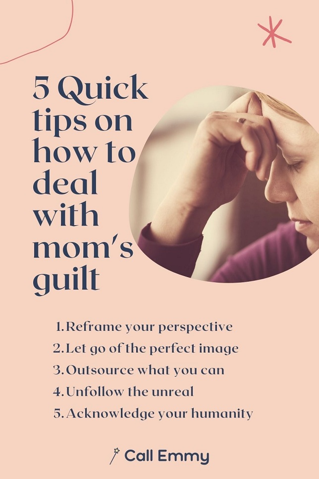 How To Deal With Mom Guilt