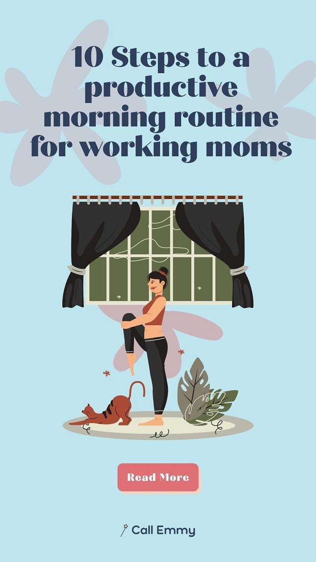Morning Routine For Working Moms