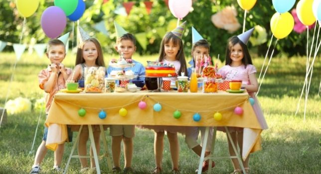 Local Park - Summer Birthday Party Ideas for Kids