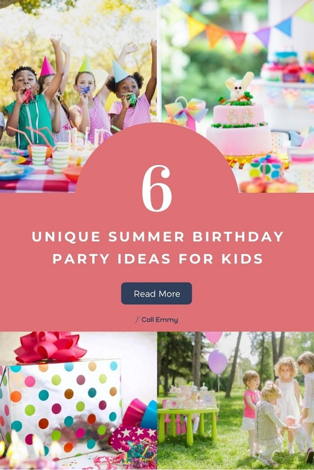 Summer Birthday Party Ideas for Kids