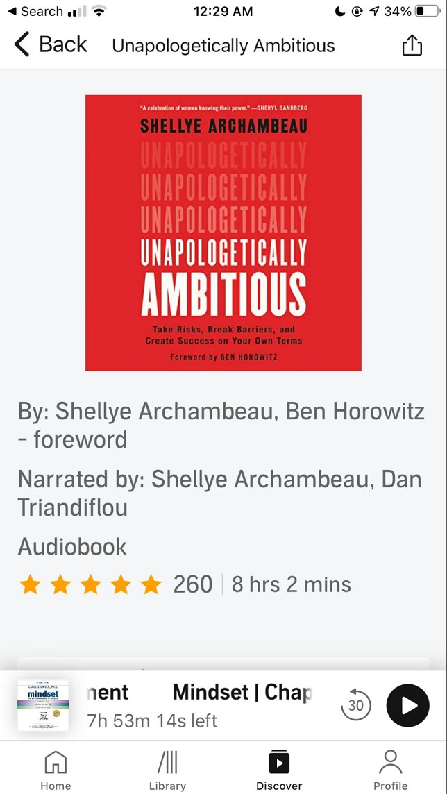Audible - Best App For Audio Books