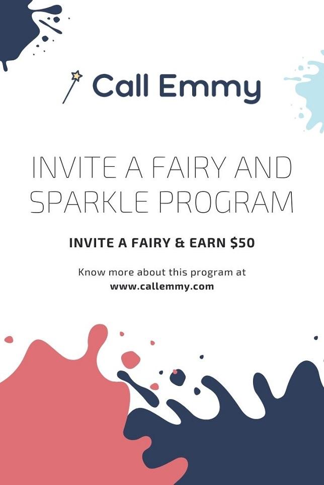 Invite A Fairy And Sparkle Program