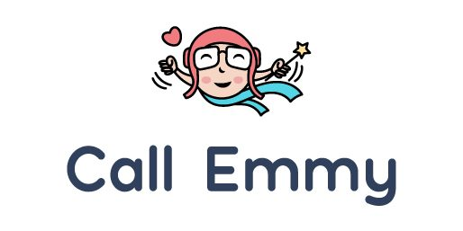 call-emmy-logo-with-icon-and-text